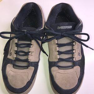 VANS Men's Size 13 Navy Blue Tan Suede